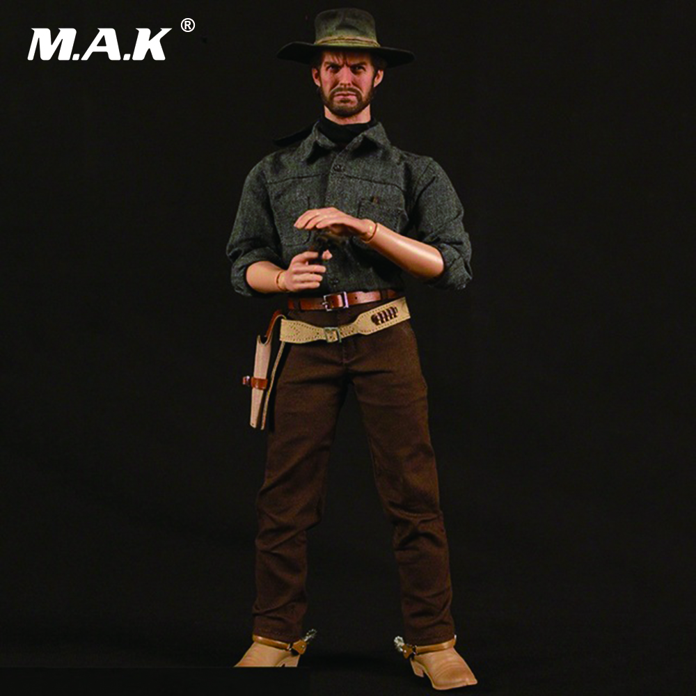 1/6 RM020 The Cowboy Drifter Clint Eastwood Full Set Action Figure toy for collection crazy for the cowboy