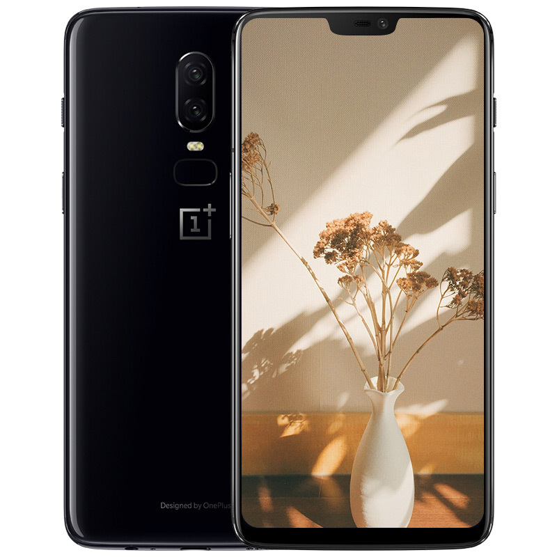 original Oneplus 6 mobilephone Snapdragon 845 dual sim fullscreen smart 4Gphone Dual Rear camera 8G+128G octa core&optic amoled