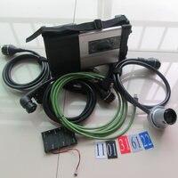 Лидер продаж MB Star C5 SD соединиться с беспроводной Профессиональный Универсальный автоматический диагностический сканер без программного о...