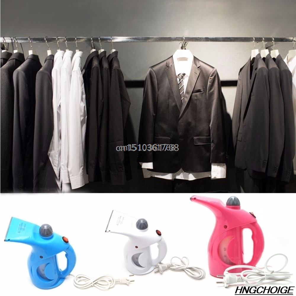 Portable Clothes Steamer Handheld Fast Heat Up Fabric Garment Steamer EU Plug #Y05# #C05#