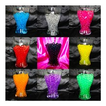 20g Colorful Water Plant Flower Jelly Crystal Soil Mud Hydro Gel Pearls Beads Balls Wedding Party Table Decoratios