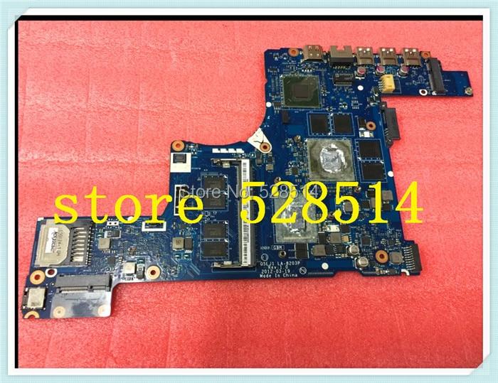 original nbmzg11001 Laptop Motherboard For Acer aspire m5-581t m5-581  la-8203p 100% Test ok