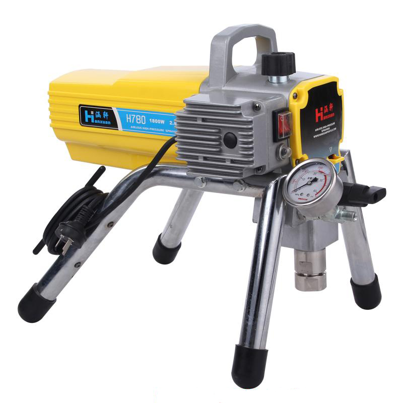 цена на H780 High-pressure Airless Spraying Machine Spray Gun Paint Airless Paint Sprayer Wall spray paint sprayer professional spray