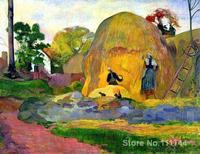 paintings of Paul Gauguin Golden Harvest artwork Landscape art High quality Hand painted