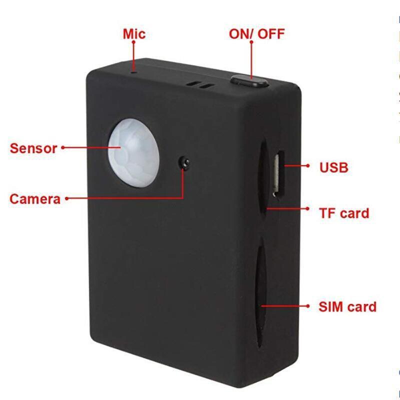 Image 3 - Mini X9009 GPS Tracker Smart Wireless PIR Motion Detector Sensor Support HD Camera SMS MMS GSM Anti theft Alarm System Mirco USBSensor & Detector   -