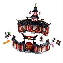 Новинка 2019 года, ниндзя, Monastery Of Spinjtzu, совместимые с Ninjagoes, строительные блоки, кирпичи, детские игрушки, рождественские подарки 1198 шт.