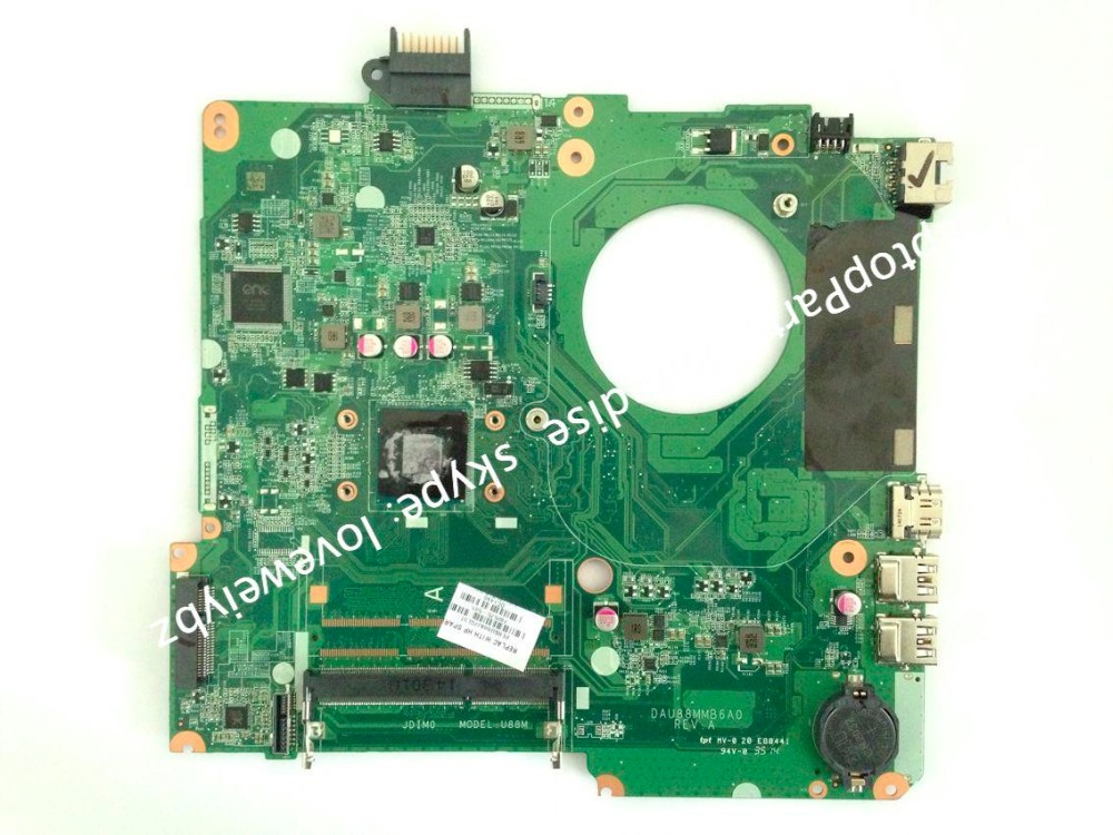 804044-501 For HP 15F 15-F Laptop Motherboard With Intel CelN2940 processor