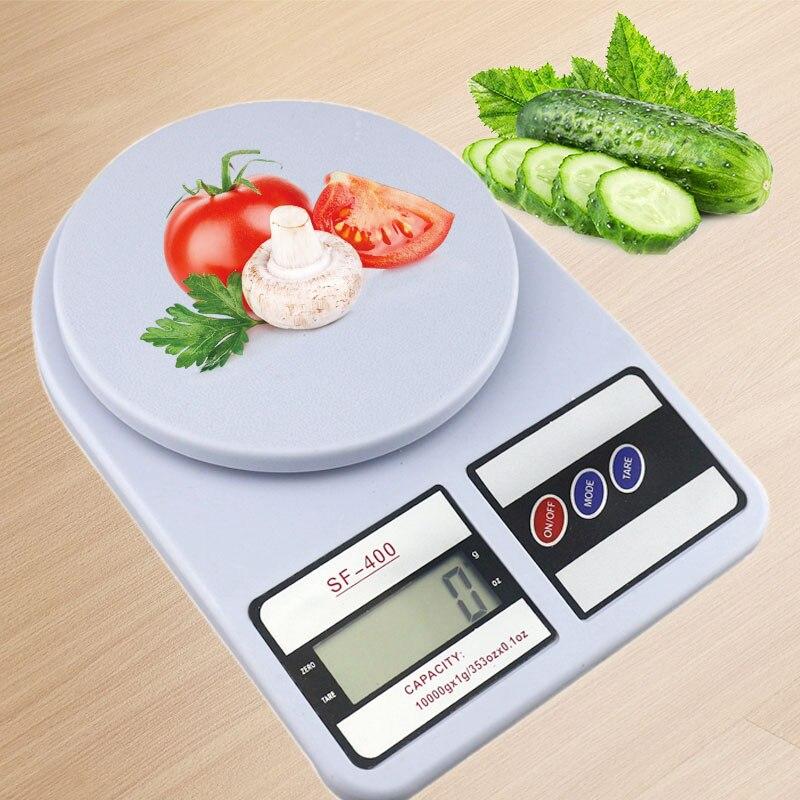 10 kg x 1g Digitale Küche Waagen Essen Skala Waage Balance Gewicht Elektronische Waage für Ernährung Bodybuilding Mit Gute qualität