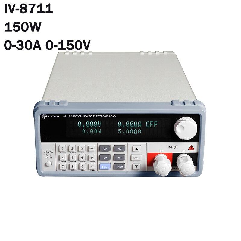 Charge électronique de cc pour des lignes de Production IV-8711 linéaire 150 W de polarité d'essai d'alimentation d'énergie de commutation de batterie pour l'usine de laboratoire