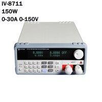 DC электронная нагрузка для производственных линий переключатель аккумулятора Линейный источник питания тест полярности IV 8711 150 Вт для лабо