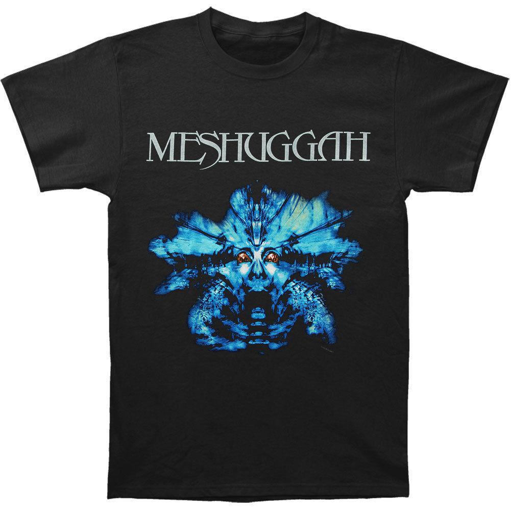 Black t shirt low price - Meshuggah Men S Blue Nothing T Shirt Medium Black T Shirt Summer Style Men T