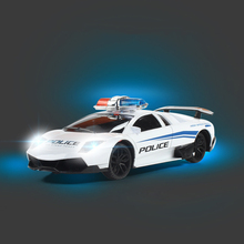 1:24 Model Electric Police RC Cars 4 channels Remote Control Car Toys for Boys Racing Car with Light machines Gift Kids Children