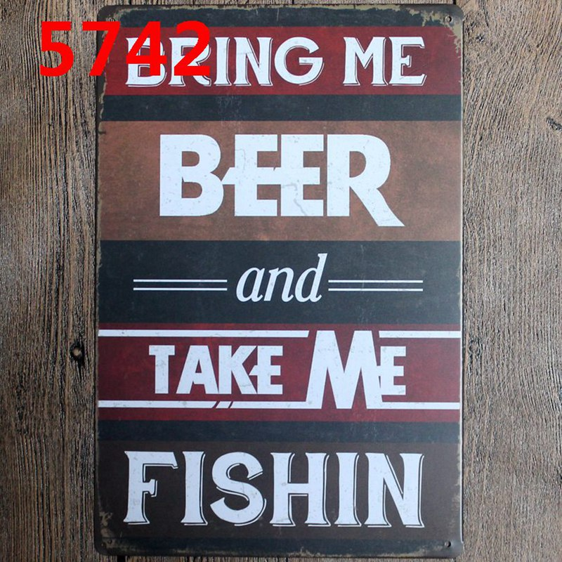 Tiki Bar Tin Signs Metal Plate Wall Pub Kitchen Restaurant Home Art Decor Vintage Iron Poster Cuadros A 5745 in Plaques Signs from Home Garden