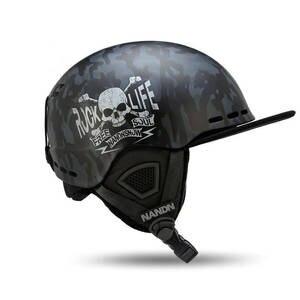 Nandn Helmets Skating-Skateboard Ultralight Ski EPS PC Men Skiing Breathable Adult Women