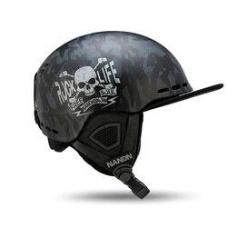 Nandn лыжные шлемы для взрослых PC + EPS сверхлегкие высококачественные шлемы для сноуборда мужские и женские катания на скейтборде катания на л...