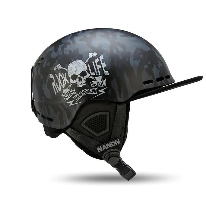 Nandn Ski Adult Helmets PC+EPS Ultralight High Quality Snowboard Helmets Men Women Skating Skateboard Skiing Breathable Helmets
