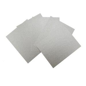 Peças sobressalentes de 2 pçs/lote 15*12cm, folhas de mica para microondas, tampa magnética para midea micro-ondas placas de forno