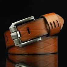 2017 Fashion Men's Boutique Classic Belts Suit Pants And Jeans Excellent Quality Hollow Leather Men Belt Drop Shipping
