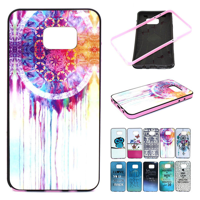 Note 5 N9200 Case 2 in 1 Combo Lovely Phone Cases for Samsung Galaxy Soft TPU+Hard Plastic Frame Shell Back Cover Capa