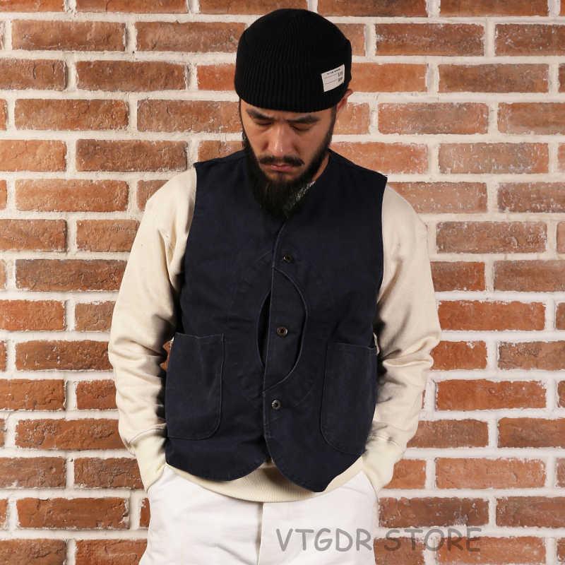 Non Voorraad Eend Canvas Game Pocket Vest Vintage Outdoor Mannen Jacht Jas