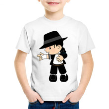 Children Cartoon Michael Jackson Funny T shirt