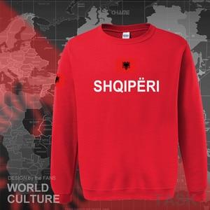 Image 2 - Albania hoodies 2017 men sweatshirt sweat new hip hop streetwear tracksuit nation footballer sporting country ALB Albanian