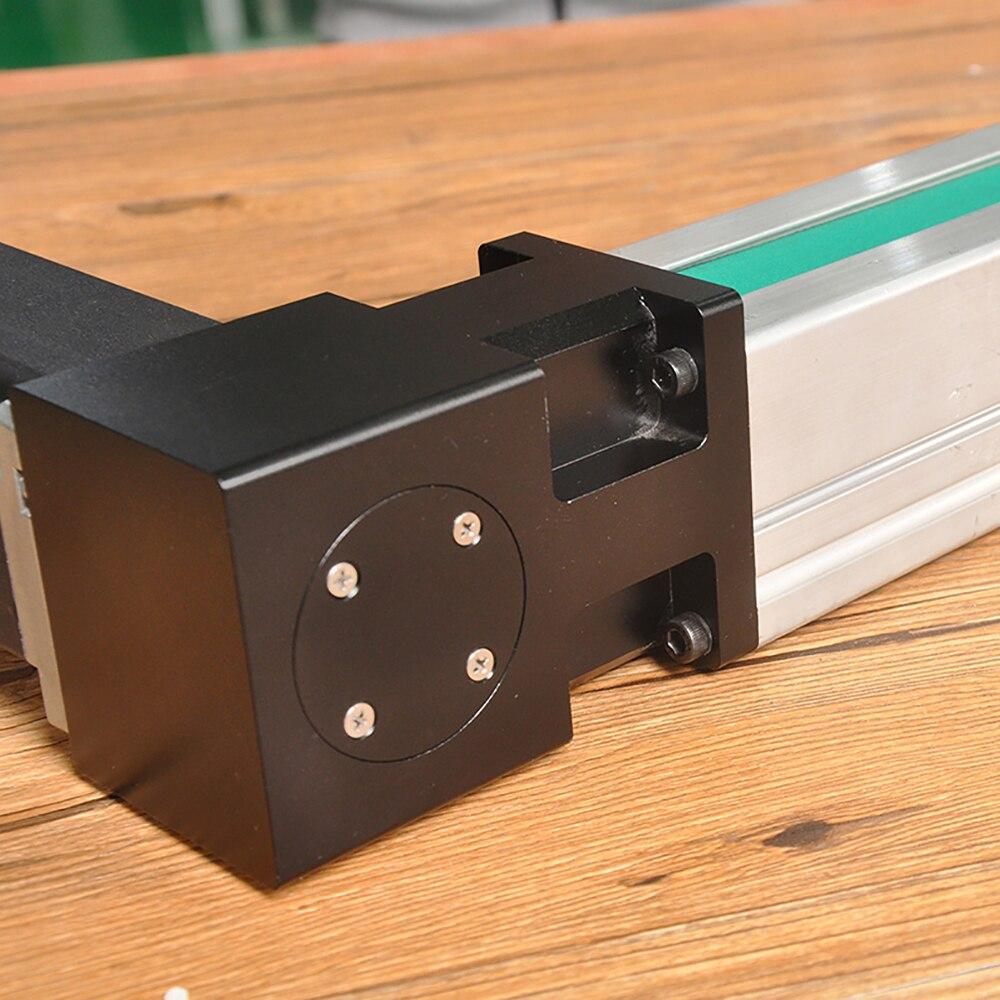 Livraison gratuite 200 ~ 3000mm course CNC entraînement par courroie guide linéaire actionneur de rail coulissant avec précision du moteur 0.1mm - 5