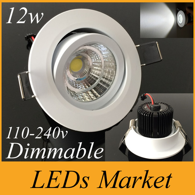 Cree cob led ceiling downlight dimmable 10w 12w led recessed lights cree cob led ceiling downlight dimmable 10w 12w led recessed lights lamp lighting for home warm aloadofball Gallery