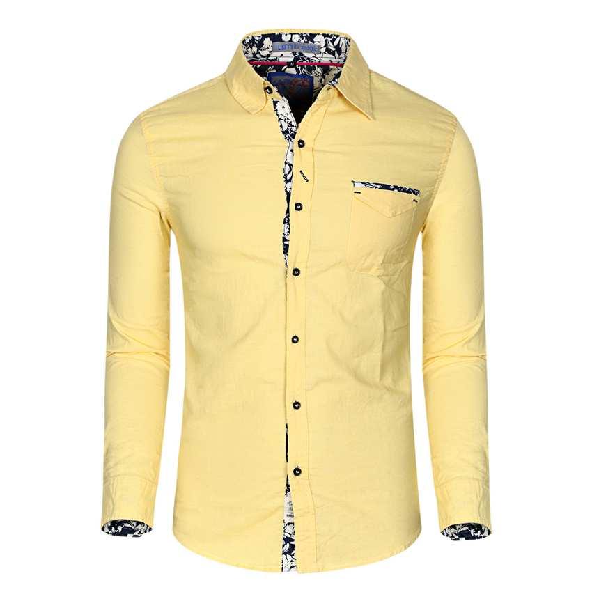 Amarillo Camisas De Hombre - Compra lotes baratos de