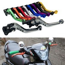 New Arrival GY6 Motorcycle CNC Aluminum Adjustable Brake Levers High Quality Handlebar Clutch For Honda GROM MSX125 2013-2015