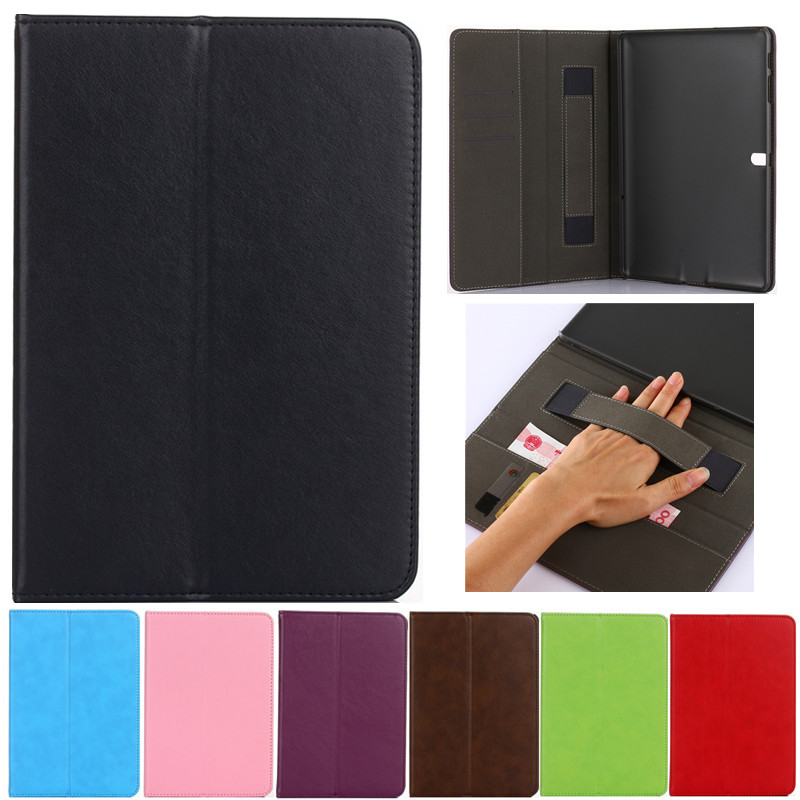 New Luxury Tablet case Cover For Samsung Galaxy Tab S 10.5 T800 T805 T805C PU Leather Flip Case Wallet Stand Cover With Holder luxury tablet case cover for samsung galaxy tab a 8 0 t350 t355 sm t355 pu leather flip case wallet card stand cover with holder