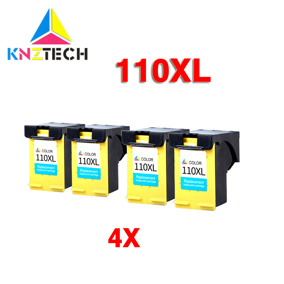 4X Ink Cartridges compatible for 110 XL 110XL <font><b>HP110</b></font> HP110XL Photosmart A433 A618 A432 A314 A516 A612 A717 A320 A436 A440 image