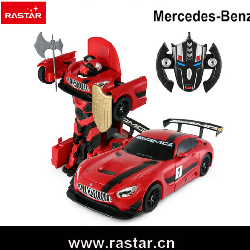 Rastar Transformation Robot Car Vehicle Assembly Deformation Toy Robot Kid Toys Action Figures Classic Model Toys Gifts dinosaur transformation plastic robot car action figure fighting vehicle with sound and led light toy model gifts for boy