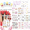 2015NEW 100PCS/LOT  BJC078-088 Sticker DecalNail Art Stickers Decals Favorite Patterns About Valentine's Day Heart Love