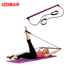 DMAR Yoga Pilates Stick bar Resistance Rope Set Fitness Equipment Exercise Body Building Training Gym Home