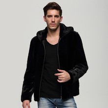LTGFUR2016-2017 new men's fashion Mink Fur Jacket Mens mink coat