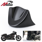 Motorcycle Glossy Black Front Chin Spoiler Air Dam Fairing Cover Mudguard Air Dam Fairing For Dyna Fat Bob Wide Glide FXDL 2006