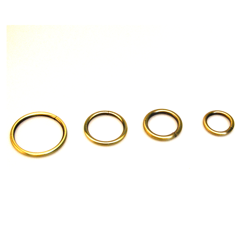 Metal O Ring O rings Unwelded Ring Antique Brass Plated Chose sizes