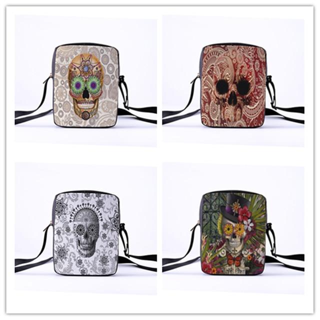 Skull Messenger Crossbody Bag 2