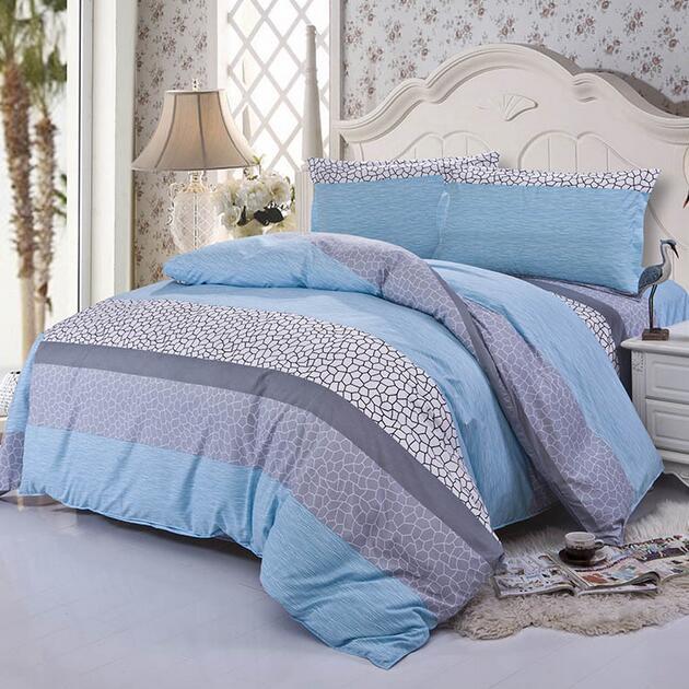 4pcs new bedding set cotton bedding set super king size - King size bed sheet set ...
