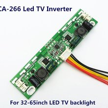 CA-266 12v-28v entrada 26-65 polegadas led tv backlight board led inversor universal placa de corrente constante