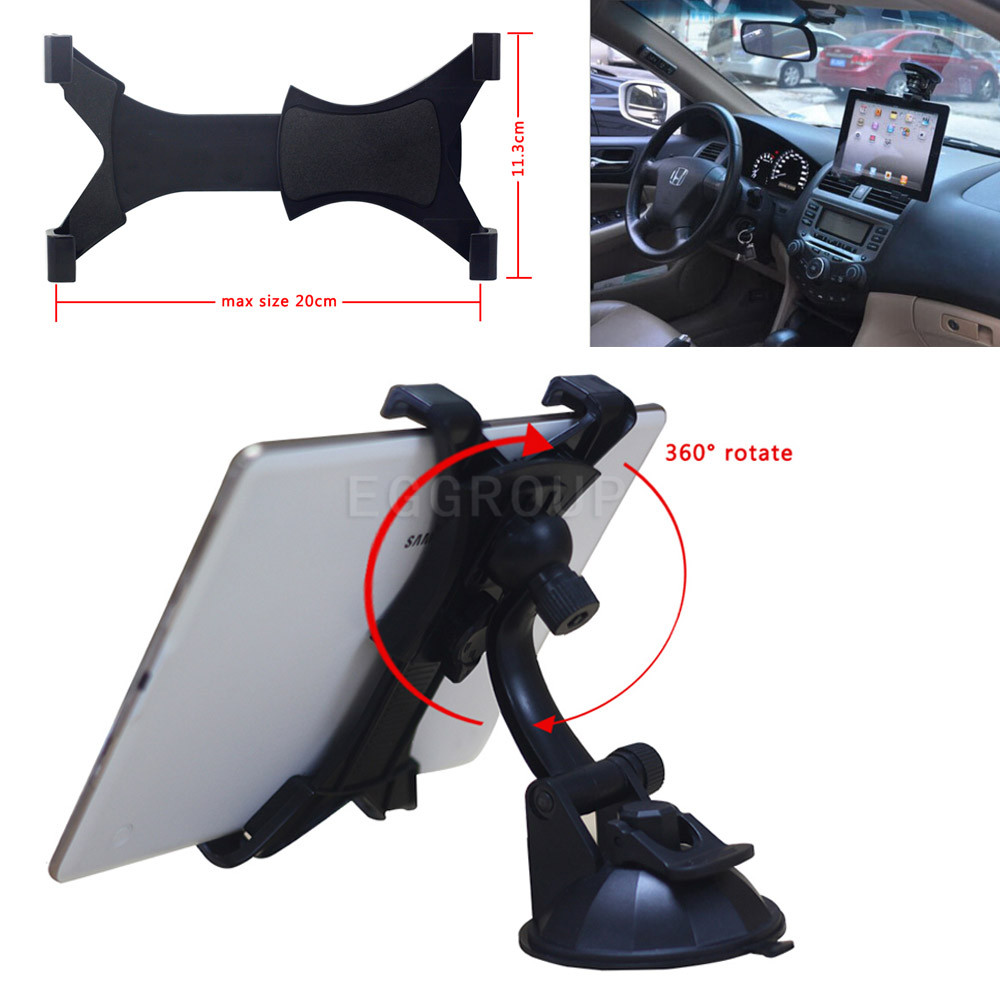 Universal 360 degrees Rotation 7 inch to 11 inch Tablet Stand holder ABS Plastic Lightweight Adjustable length Thickness