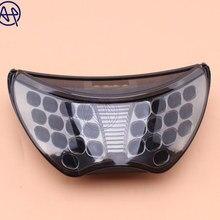 Мотоцикл светодиодный задний поворотник задние стоп-сигнал светильник Предупреждение лампа солнечных батареях для Honda CBR 600 CBR600 F4 1999-00 F4I 2004-2006