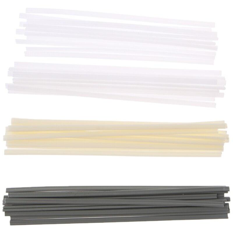 50pcs New Plastic Welding Rods ABS/PP/PVC/PE Welding Sticks For Plastic Welder automotive plastic repairs kit abs pe pp pvc plastic welding rod wires fairing sticks appc 100