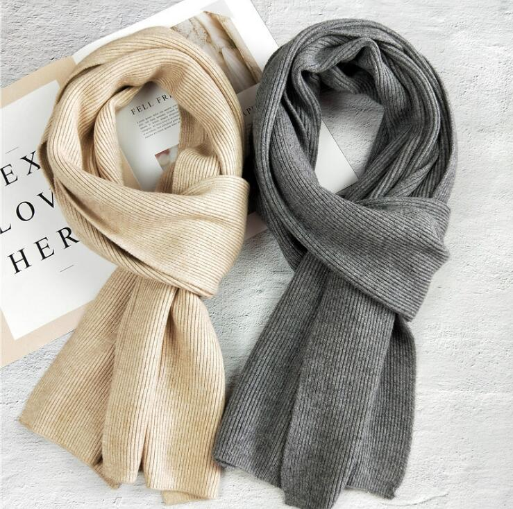 2018 NEW arrived brand women scarf knit spring winter scarves long size warmer womens scarves
