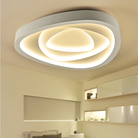 Creative Nordic Geometry LED Ceiling Lamp Modern Dining Bedroom Iron Ceiling Lights 110 240V