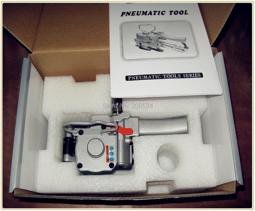 LIVRAISON GRATUITE NOUVEAU AQD-19 PNEUMATIQUE PET/PLASTIQUE/PP de CERCLAGE CERCLAGE en PET MACHINE A19 POUR 13-19 MM