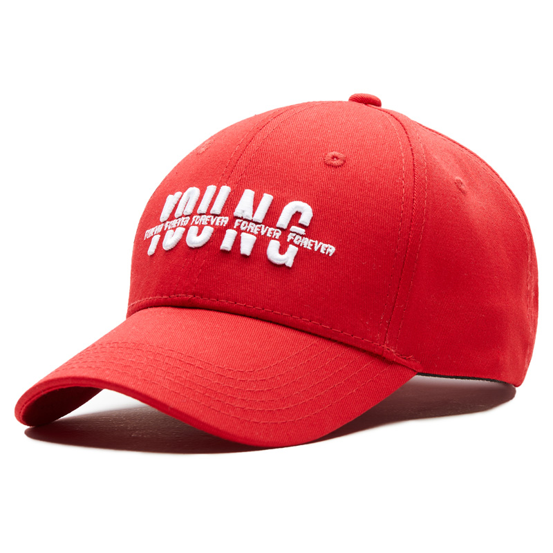 SNP Red Cap Baseball Snapback Caps Cotton Casquette Hats YOUNG Embroidered Casual Gorras Male Bones Dad Hats Women Unisex бейсболк мужские