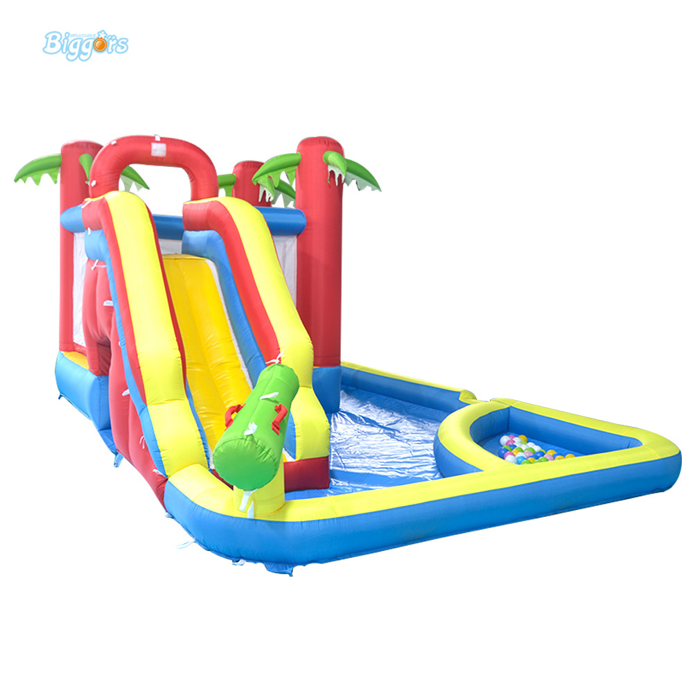 DHL Free Shipping Inflatable Bouncer Bouncy Jumper Castle with Slide with Pool for Kids jumping inflatable castle bouncy castle jumper bouncer castle inflatable bouncer with slide