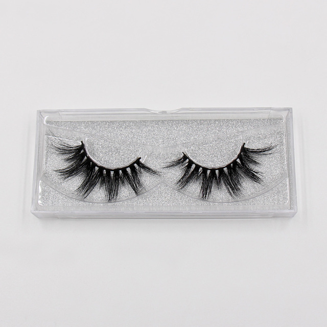LEHUAMAO Eyelashes 3D Mink Eyelashes Criss-cross Strands Cruelty Free High Volume Mink Lashes Soft Dramatic Eye lashes E1 Makeup 4